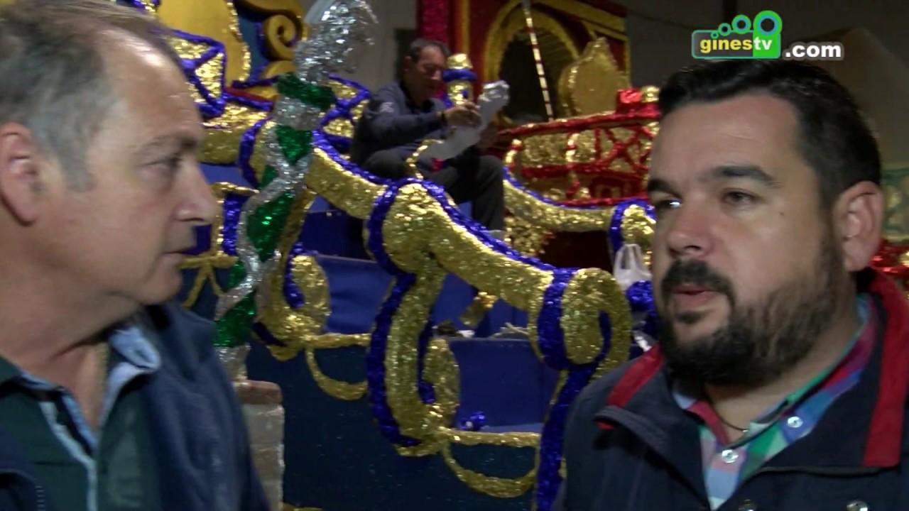 Se intensifican los trabajos y preparativos para la próxima Cabalgata de Reyes Magos de Gines 2019