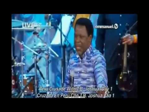 Lima Peru Crusade Day 1 Sept 2016 TB Joshua