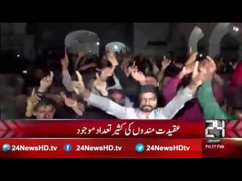 Fearless devotees perform dhamaal at Lal Shahbaz Qalandar