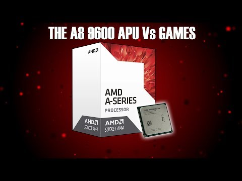 Gaming With AMD's $70 A8 9600 APU