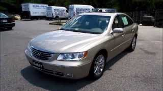 2009 Hyundai Azera Limited Walkaround, Start up, Tour and Overview