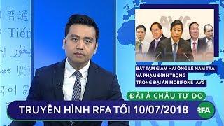 Tin tức: Bắt tạm giam hai ông Lê Nam Trà và Phạm Đình Trọng trong đại án Mobifone- AVG