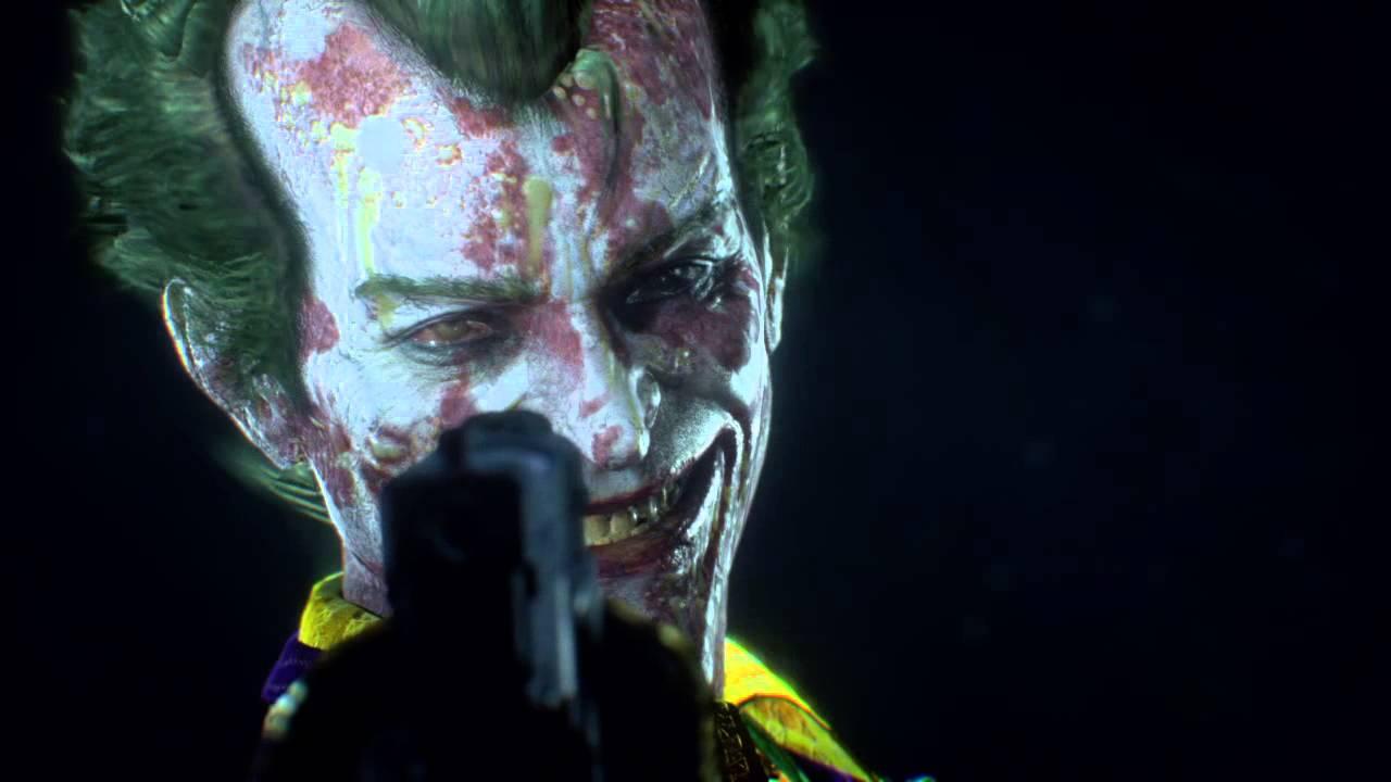 BATMAN™: ARKHAM KNIGHT joker gun in face creepy - YouTube