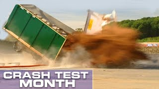 Crash Test Month: Truck Hitting A Bollard
