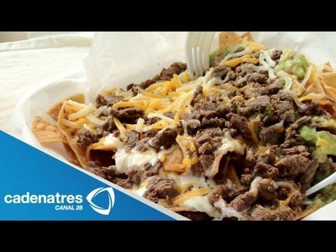 Receta para preparar nachos con carne. Receta de nachos / Antojitos mexicanos
