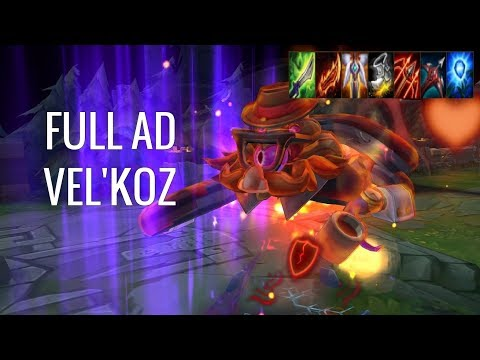 THE MOST STRATEGIC ADC?! - AD Vel'Koz - League of Legends - Off Meta Monday