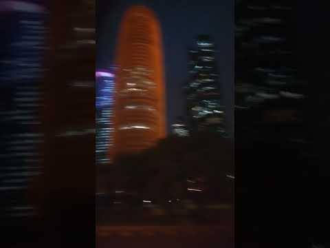 Qatar night lights
