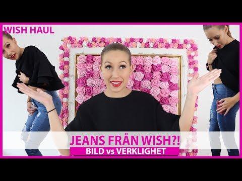 BILD vs. VERKLIGHET |Jeans från WISH