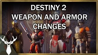 How Armor and Weapons Work in Destiny 2