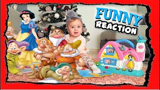 Snow white house and other Christmas gifts - Funny Baby Reaction Toys - Bambola talks to Giulia