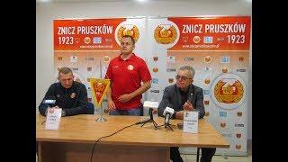Znicz Pruszków - Siarka Tarnobrzeg (pomeczowa konferencja)