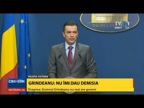 Declaraţii Sorin Grindeanu, după ce CEx al PSD a retras sprijinul politic pentru Guvern