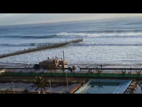 Durban beachfront waves