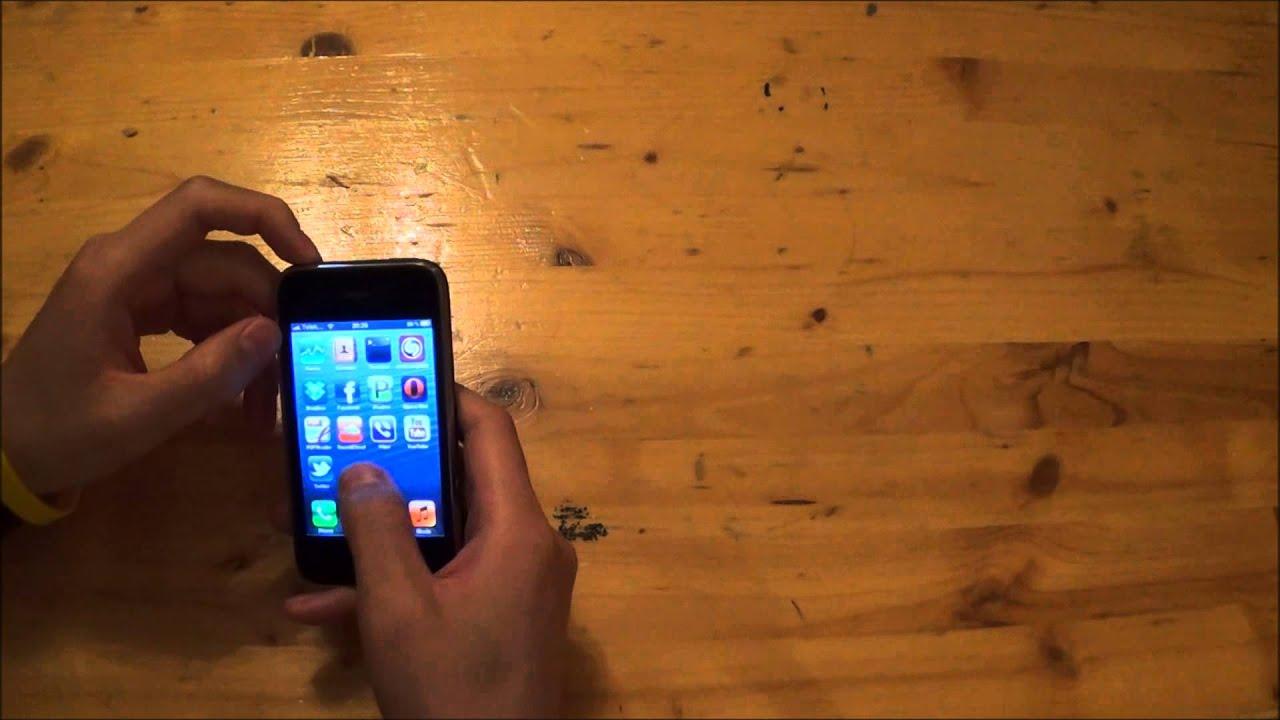 [Trên chân] Whited00r [ios] 6 trên Iphone 3G