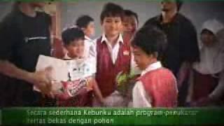 Program KebunKu (Kertas Bekasku Hijaukan Bangsaku)