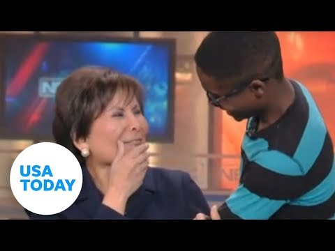 See why boy's story brings anchor to tears