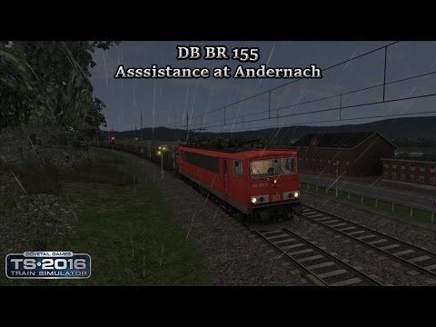 Train Simulator 2016 - Career Scenario - Cologne to Koblenz - Asssistance at Andernach Part 1 |