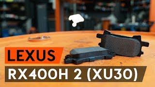 Så byter du bromsbelägg bak på LEXUS RX400h 2 (XU30) [AUTODOC-LEKTION]