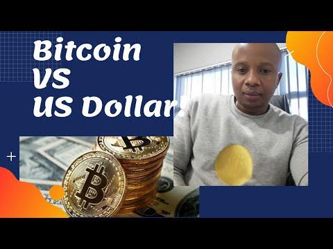Bitcoin Versus The US Dollar