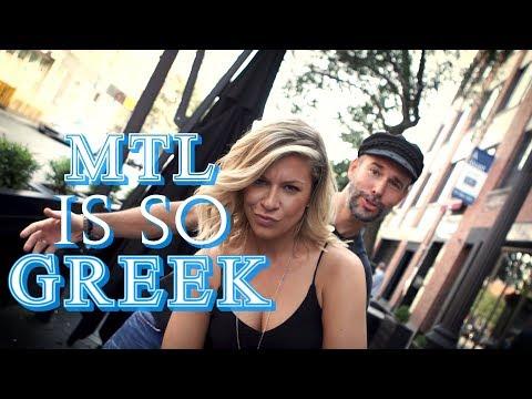 The Montreal Greek Mafia?!?! 👵 - MTL Blurb