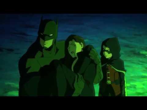 Son of Batman - Batman vs  Deathstroke