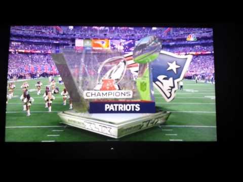New England Patriots Super Bowl XLIX Intro
