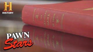 Pawn Stars: EXPENSIVE BASEBALL BIBLE NEEDS TWO APPRAISALS (Season 17) | History