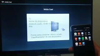Conectar celular na TV Philco