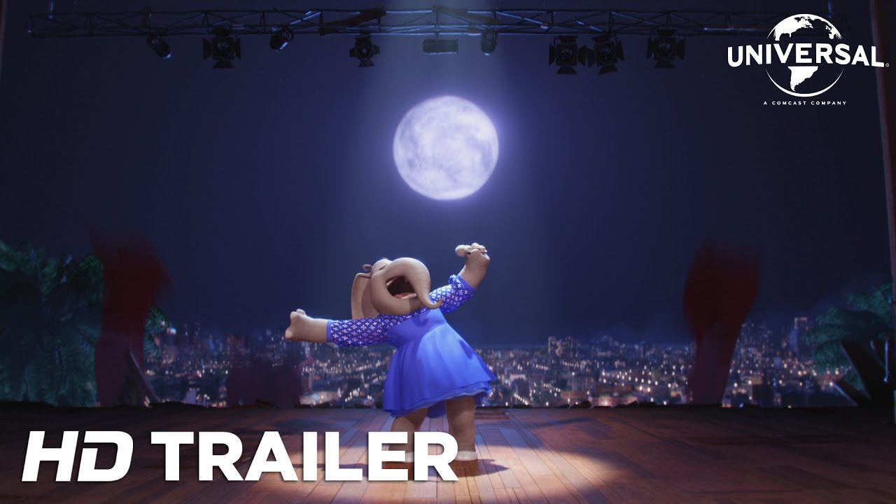 Sing Officiell Trailer 3 (Universal Pictures) HD