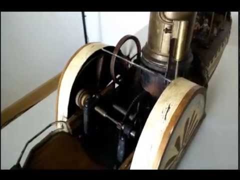 Antique Live Steam Boat Toy