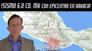 🔴ALEX BACKMAN PREDICE SISMO 6.0 CD. MX 19/FEB/2018🔴