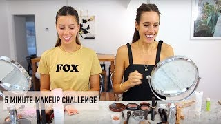 5 MINUTE MAKEUP CHALLENGE W LOUISE ROE!