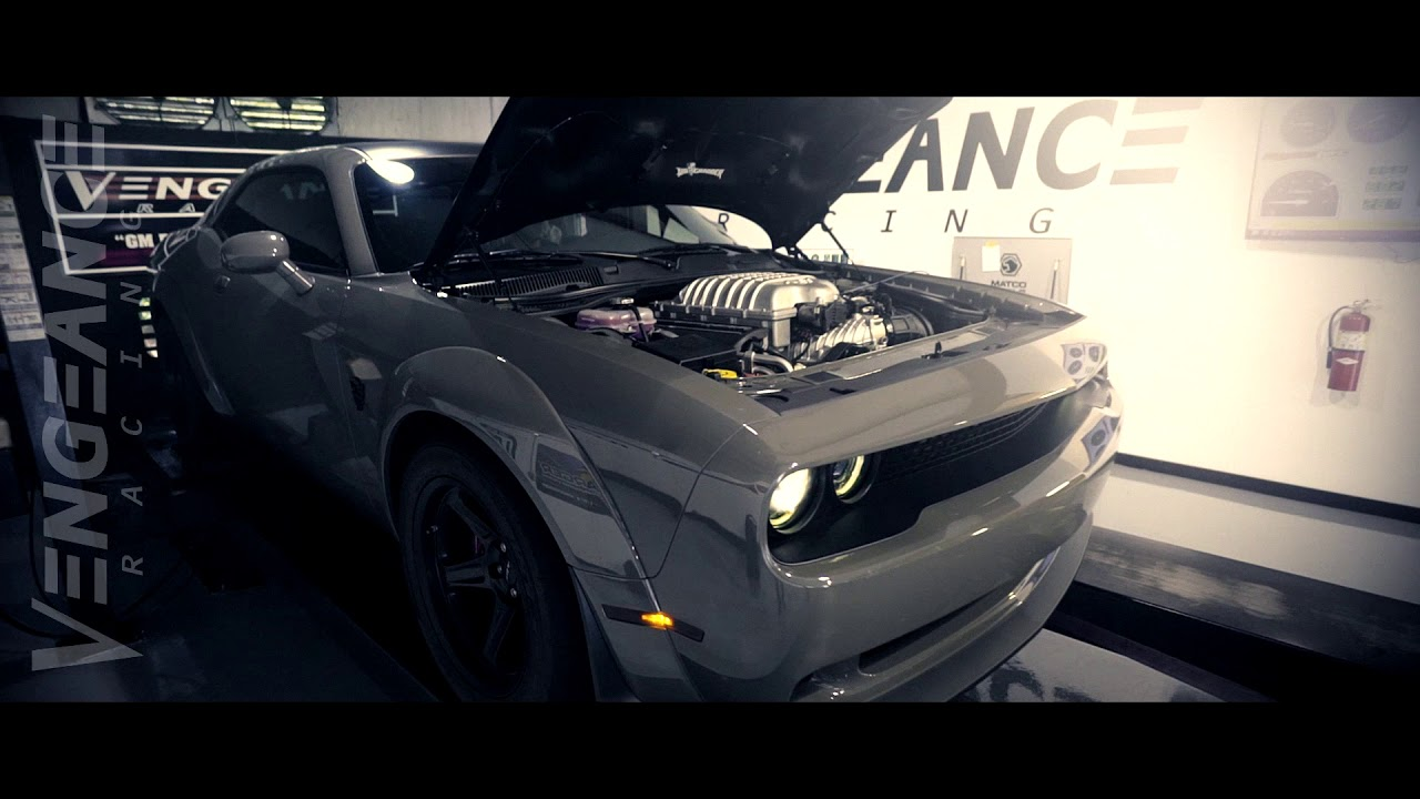 VENGEANCE RACING Dodge Demon (baseline dyno)