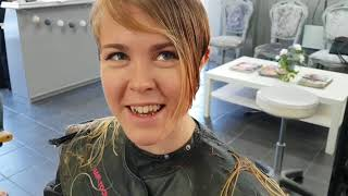 GETTING MY FIRST EVER PIXIE CUT!