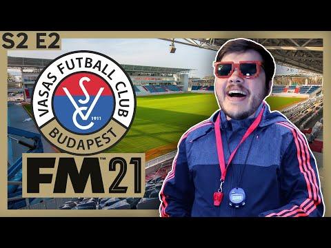 Football Manager 2021   Vasas   Season 2 Episode 2  