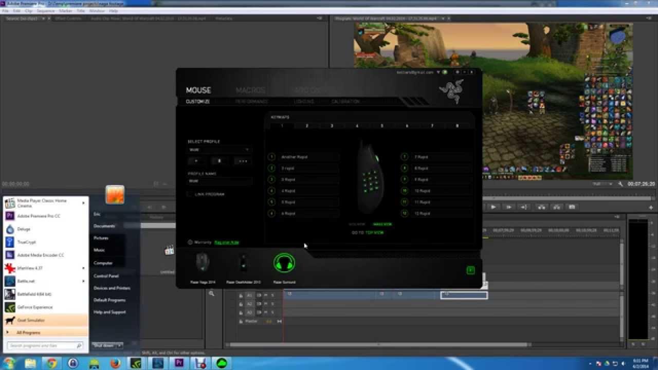 Razer Naga Epic World of Warcraft Drivers for Mac