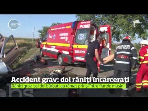 Două persoane au murit, iar una este în stare gravă, în urma unui accident produs în Dragodana