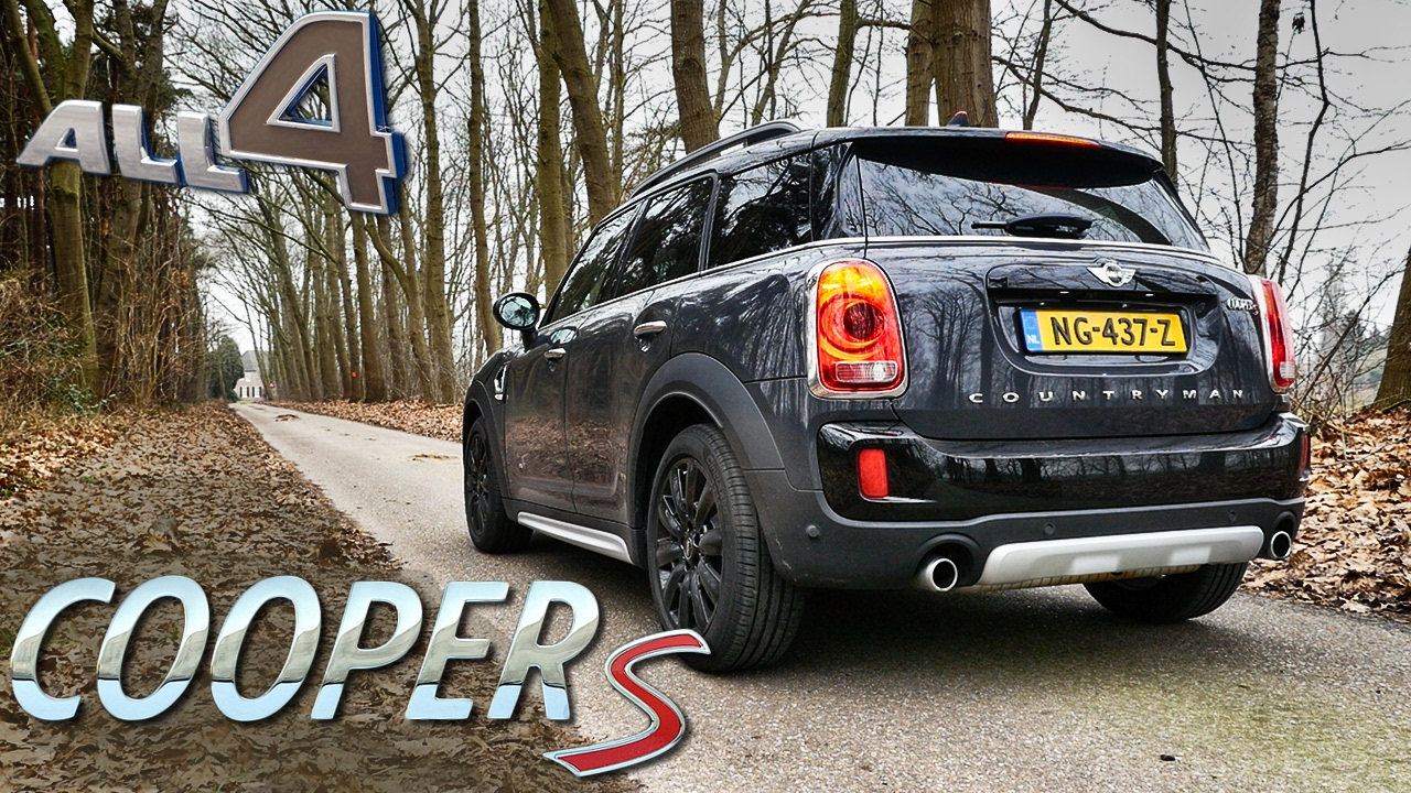 Mini Countryman Cooper S 2017 Exhaust Sound Startup By Autotopnl Youtube