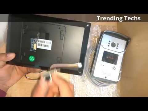 CP Plus Video Door Phone Unboxing   Installation!! By India tech Solutions