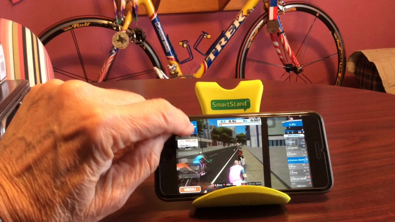 Pairing Apple Watch to Zwift Cycling app