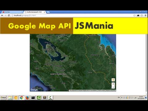 Google Map API (01) Mendapatkan Google Map API Key Dan Seting Html