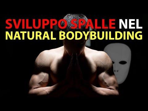 sviluppo spalle bodybuilding naturale VIDEO