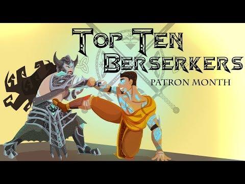 Top Ten Video Game Berserkers (Patreon Reward)