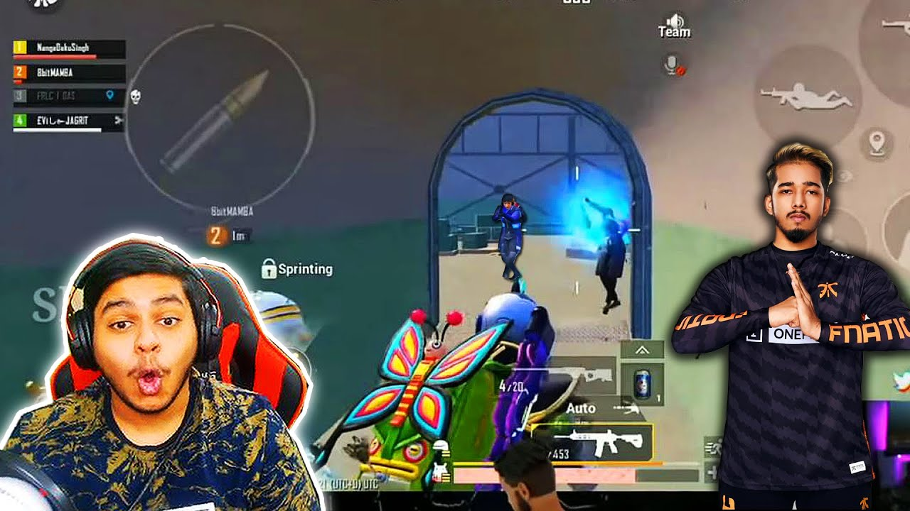 MOST Famous BGMI Player Scout GLACIER M416 BEST Moments in PUBG Mobile