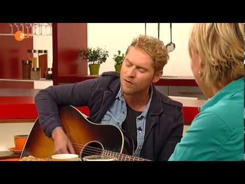 """Johannes Oerding """"Nichts geht mehr"""" live bei ZDF Volle Kanne"""