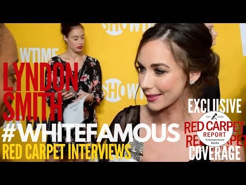 """Lyndon Smith interviewed about Showtime's new series """"White Famous"""" at premiere #WhiteFamous"""