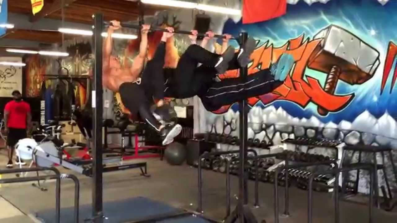 Frank Medrano Three Man Lever Metroflex Gym Long Beach