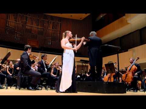 Johanna Qvamme Den Danske Strygerkonkurrence, finalen 15. maj 2014 Aarhus Symfoniorkester