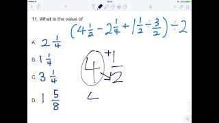 KCPE 2013 Mathematics Paper: Question 11 (Fractions, BODMAS, Division |  Kenyan National Exams) HD by KCPE & KCSE Revision Kenyan Exams