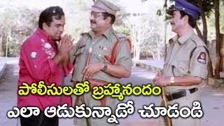 Brahmanandam as Police informer | Nonstop hilarious Comedy Scenes ||
